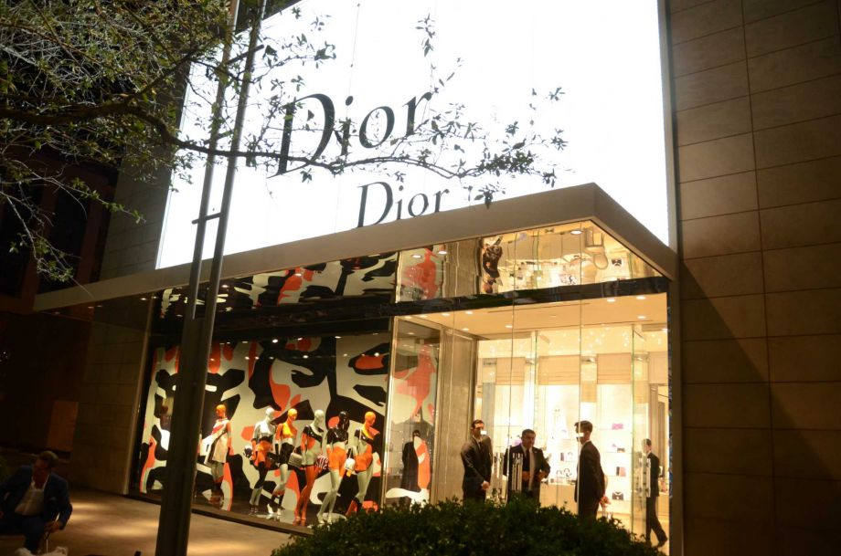 Negozio Dior Houston