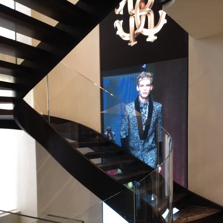 Scala Just Cavalli Milano